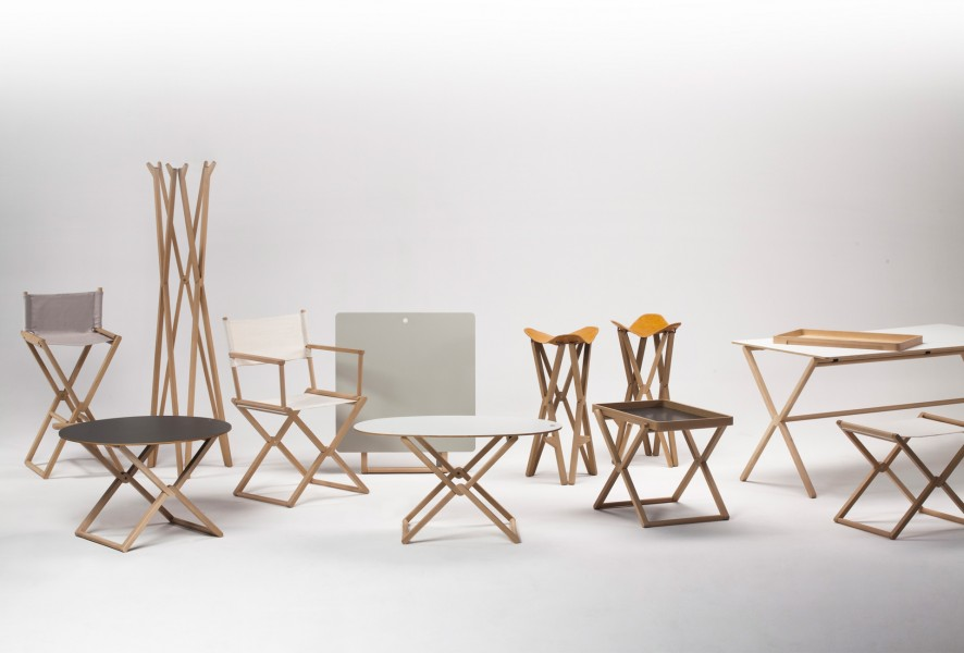 Treee Mini Tables from wood collection designed by Luciano Bertoncini