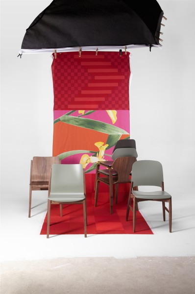 fred, ginger, lipp and sticky chair. design studiolucianobertoncini