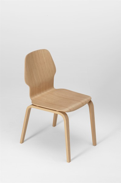 fred chair, oak, design studiolucianobertoncini