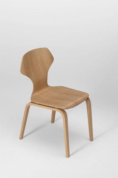 ginger chair. oak. design studiolucianobertoncini