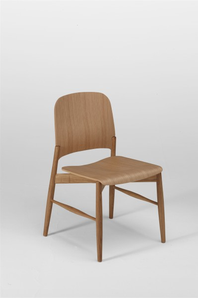 lipp chair. oak. design studiolucianobertoncini