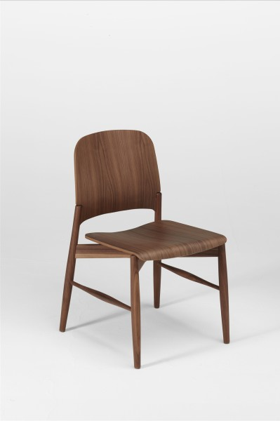 lipp chair. walnut. design studiolucianobertoncini