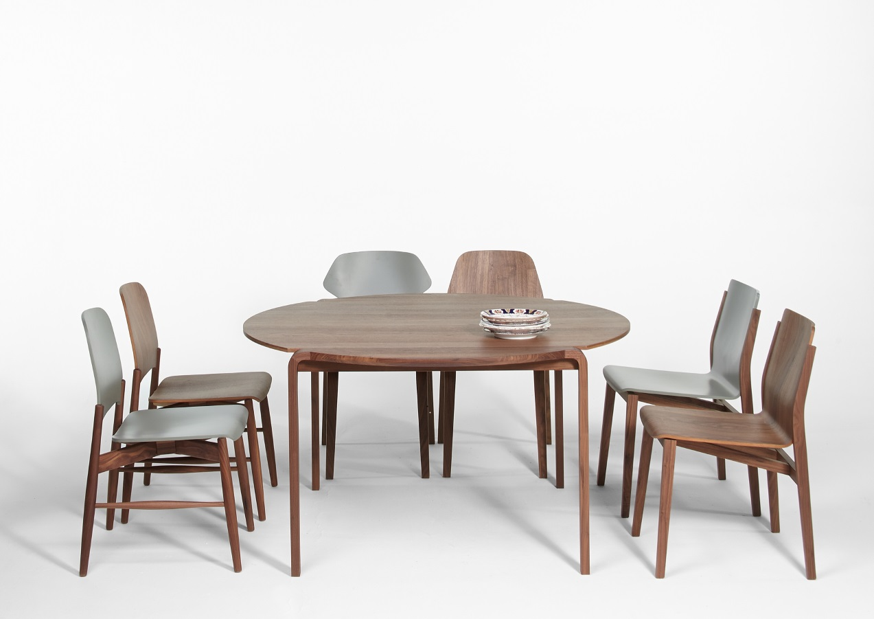 new products. Caon arreda presents the novelty Margot table chairs lipp sticky fred and ginger designer Luciano Bertoncini