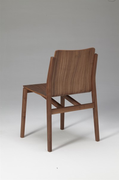 sticky chair. walnut. design studiolucianobertoncini